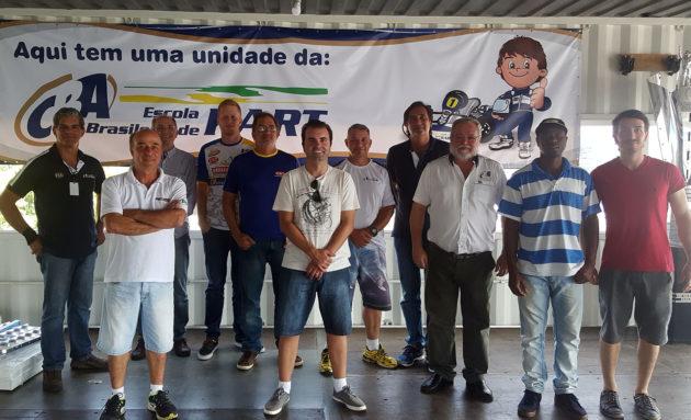 Escola Brasileira de Kart realizou <br>primeiro curso de capacitação